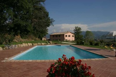 Villa in Umbria with pool