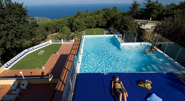 Luxury villa in Sorrento