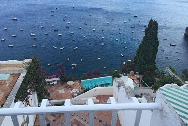 Positano villa with private pool