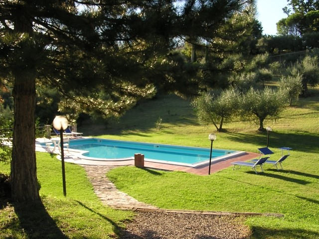 Nice holiday villa in Umbria with pool surrounded by woodland 12km from Perugia