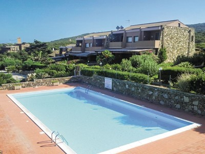Apartments in Sardinia with shared pool