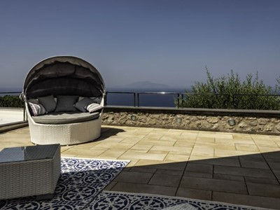 Villa for 8 people in Anacapri on the island of Capri