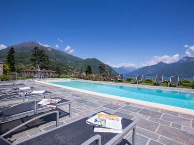 Modern apartment near Menaggio with swimming pool & views of Lake Como