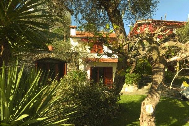 Liguria villa with private pool