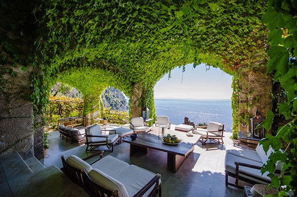 Large luxury Amalfi villa