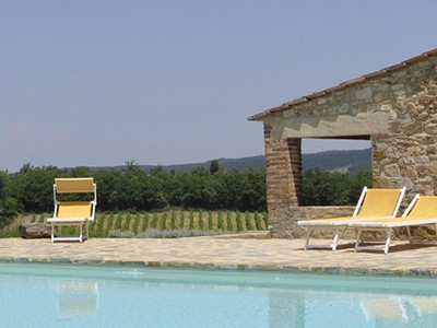 Tuscany villas with pool