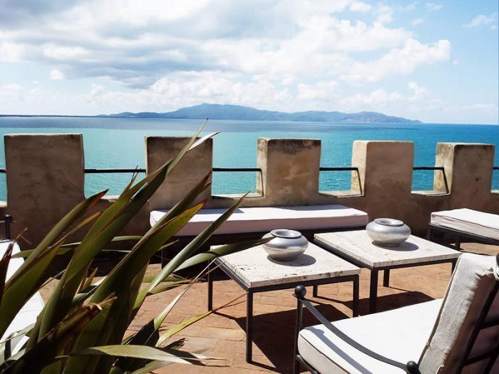 Tuscany coast villa
