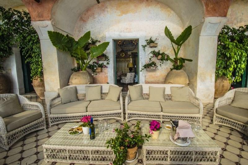 luxury villa in Positano with private pool