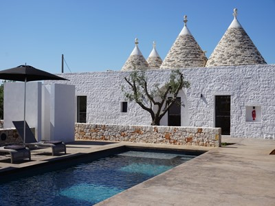 Trullo with private pool for 7 people in the Valle d'Itria