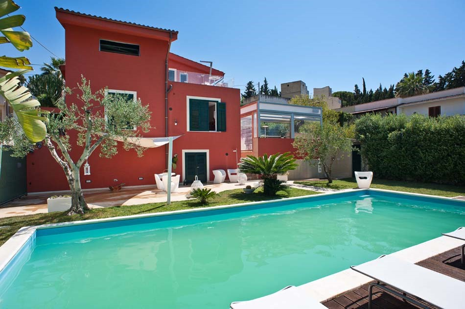Sicily villa with private pool