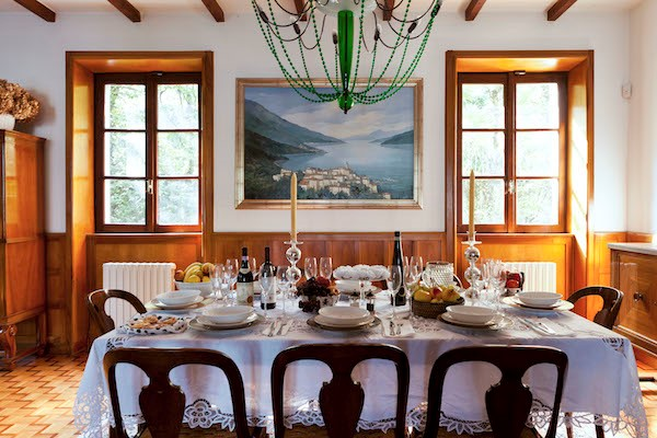 NEW Cigno Del Lago Main Villa Living Room Details