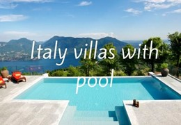 Italy Villas With Pool