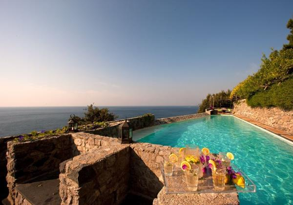 Exceptional luxurious 8 bedroomed villa with private pool, chef service and direct sea access