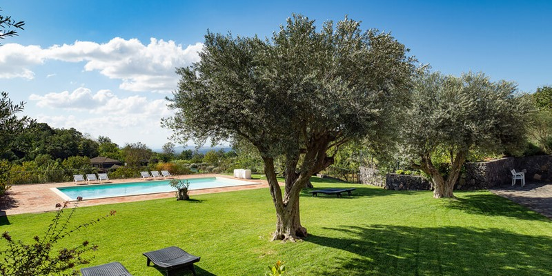 Large Sicily villa for 12 people and private pool and sea view