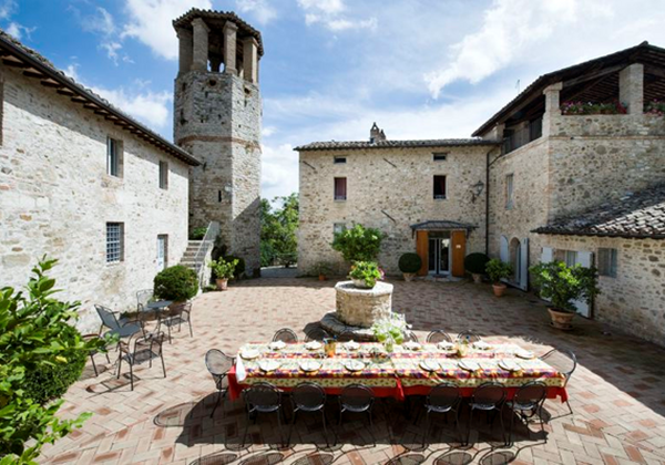 Villas In Umbria For Groups
