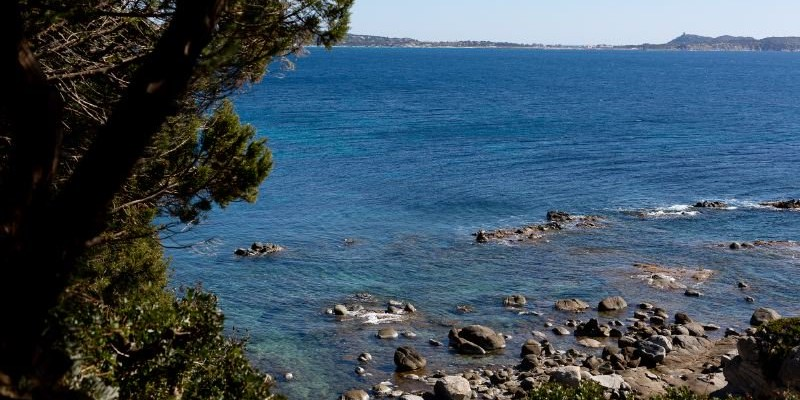 3 bedroomed villa in Sardinia with direct sea access