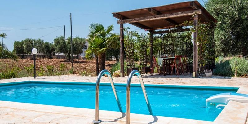Ancient Trullo for 4 people near Alberobello with private pool