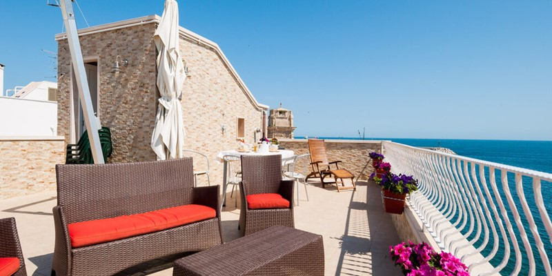 Excellent 1 bedroomed apartment with sea view apartment in Monopoli