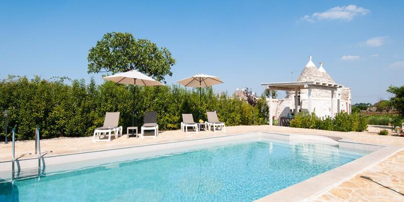 Romantic cosy Trullo in Puglia with private pool