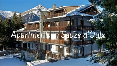 Apartments In Sauze Doulx
