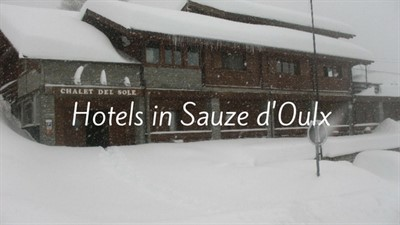 Hotels In Sauze Doulx