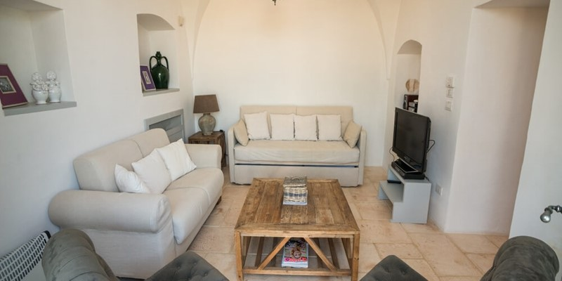 Luxury 1 bedroomed apartment for 3 people in Puglia Masseria
