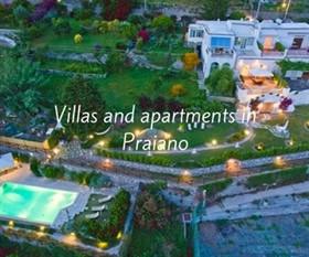 Villas and Apartments In Praiano