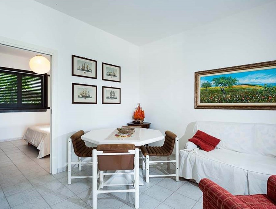 Great group of apartments in Sicily with shared pool