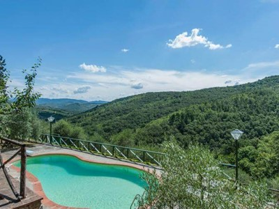 Chianti villa with private pool