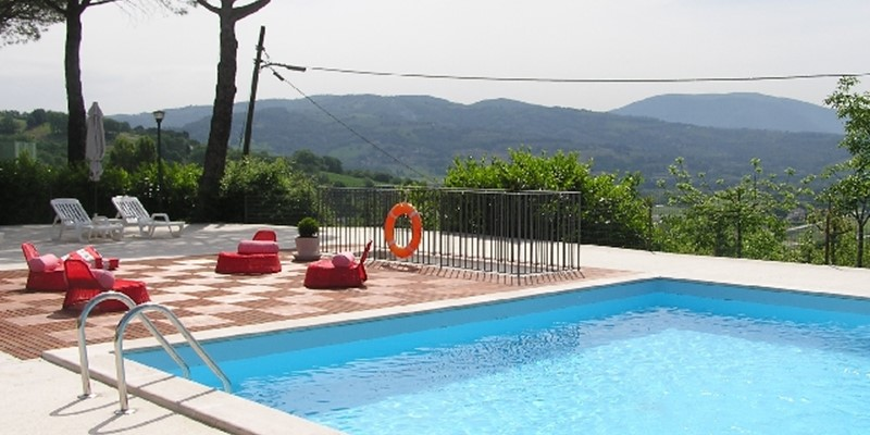 Villa with pool near Assisi