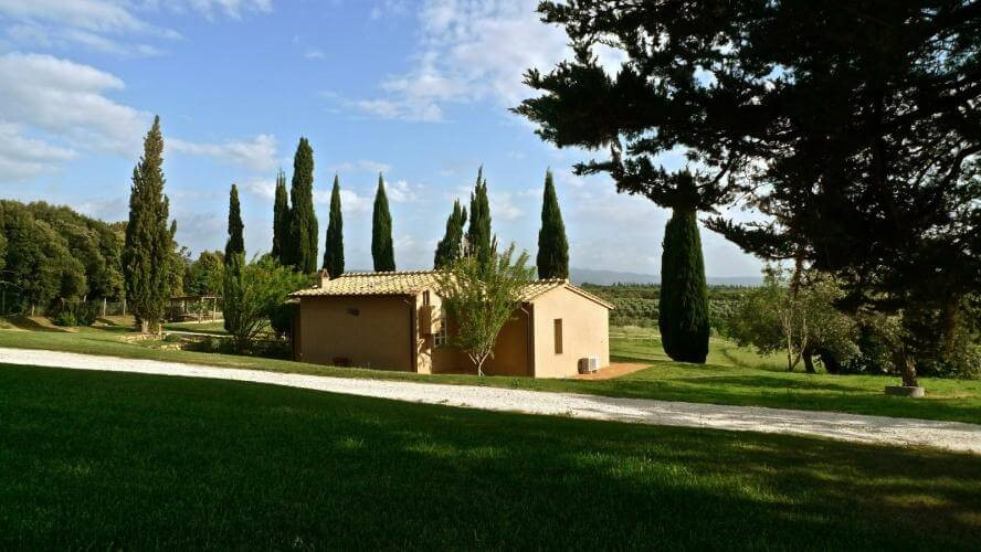 Villa in the coast of the Etruscans
