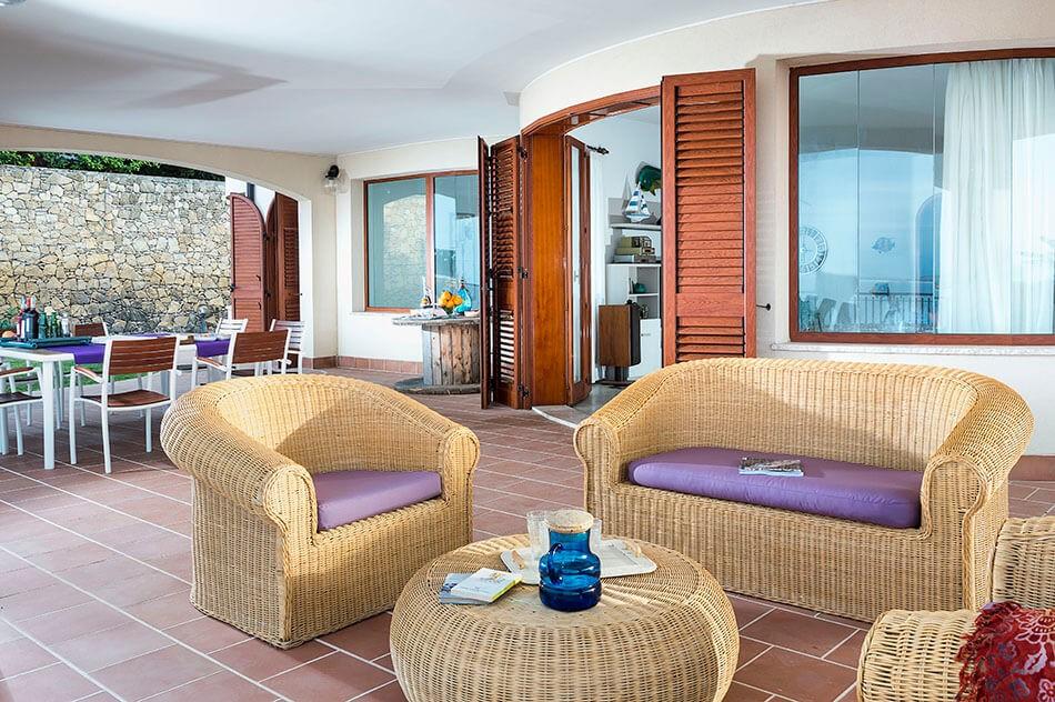 Sicily villa with sea view