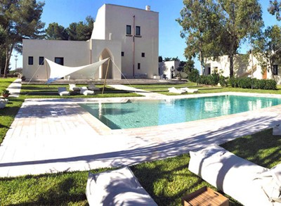 Villa with private pool near Gallipoli