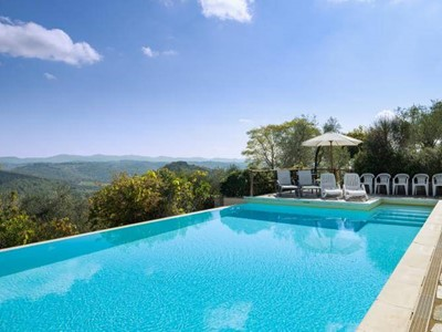 Large villa in Chianti region with private pool