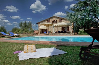 Villa with private pool near Siena
