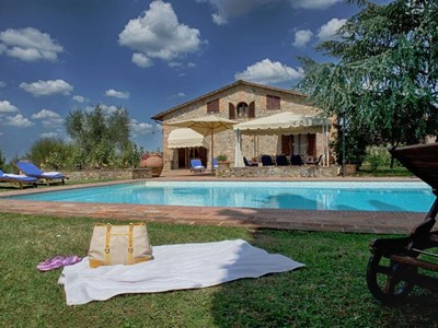 Villa with private pool near Siena