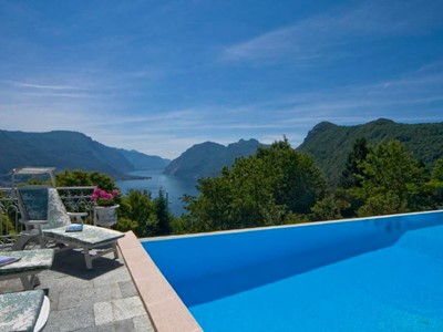 Villa in Lake Como near Bellagio with private pool and great views of the Lake