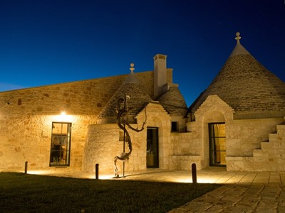 Apartment for 8 people in Trulli complex of Puglia