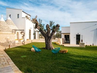 Apartment in luxury Trulli near Castellana Grotte