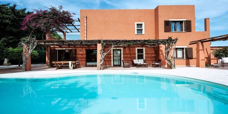 Beautiful villa near Marsala with private pool