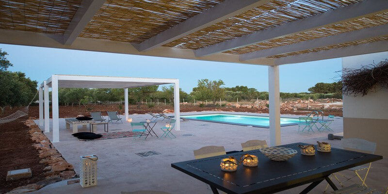 Exclusive villa in west Puglia with private pool 9km from the beaches of Salento