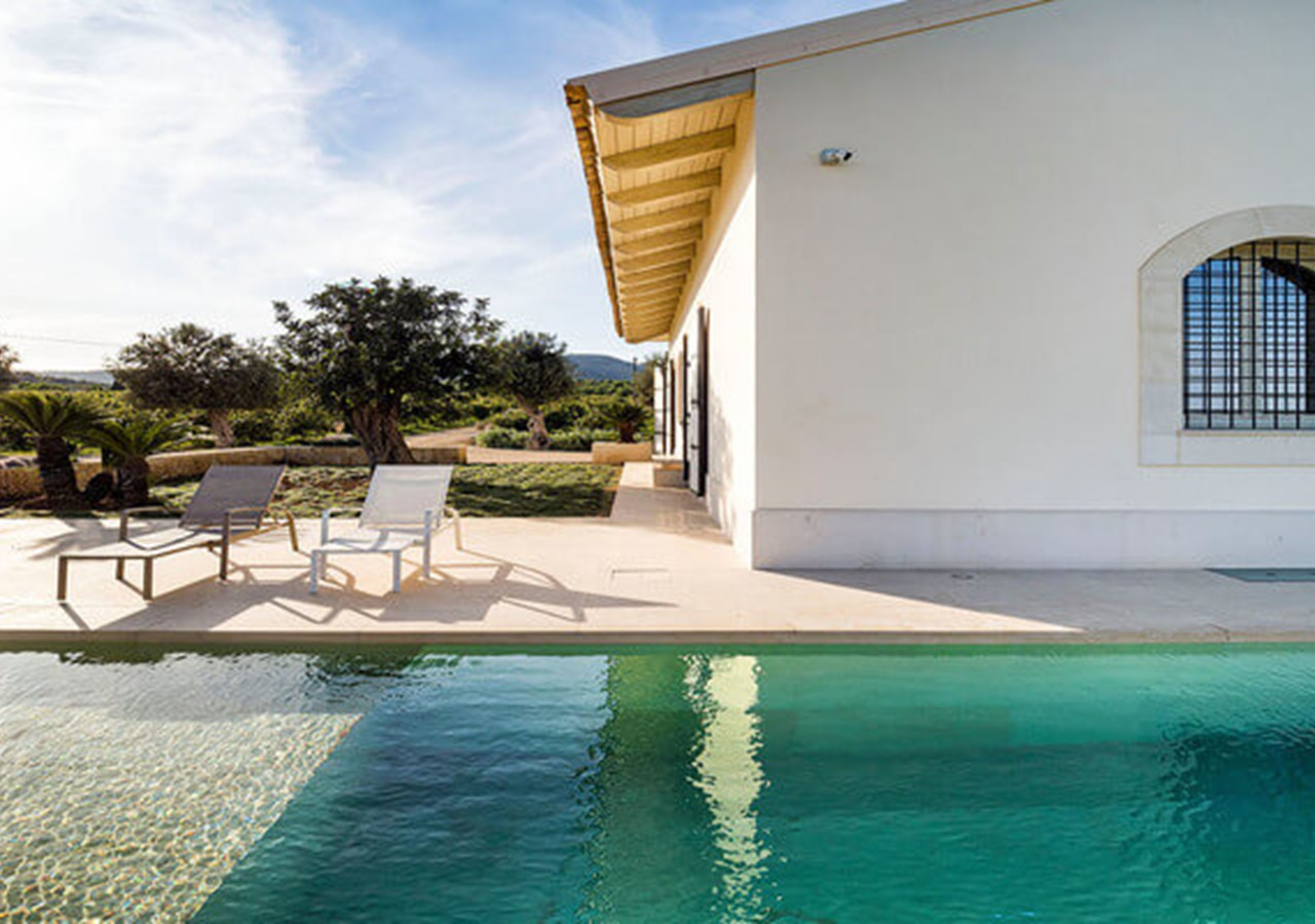 Splendid country villa with private pool in south east Sicily