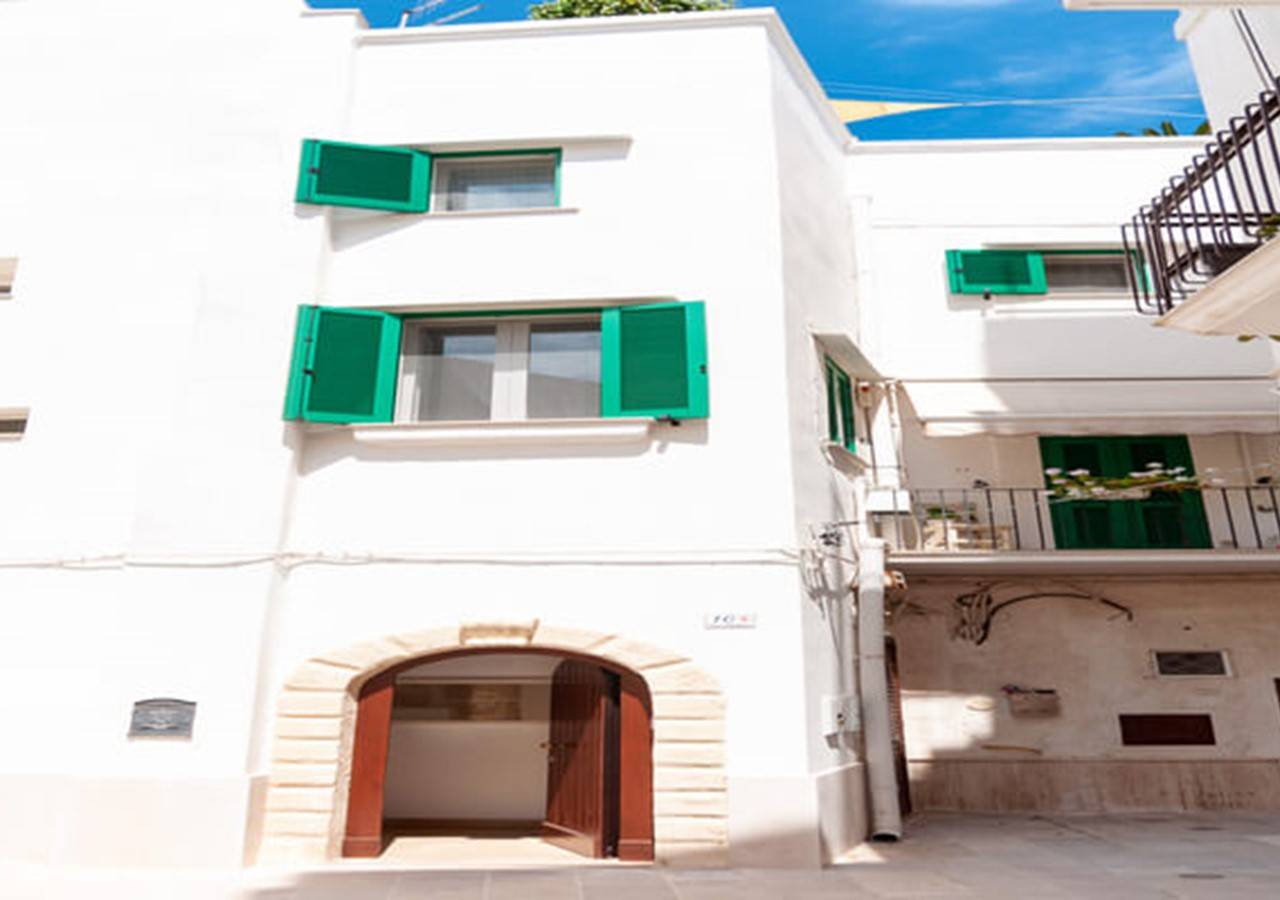 2 bedroomed apartment in Monopoli within walking distance of amenities