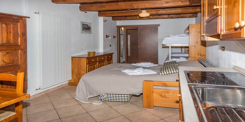 Studio apartment in Sauze d'Oulx for 4 people