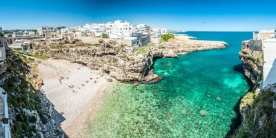 Apartment in Polignano a Mare with great sea views