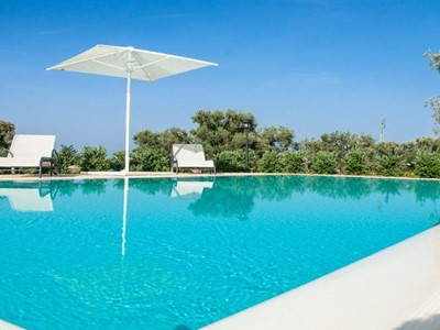 Trulli near Capitolo in Puglia with private pool