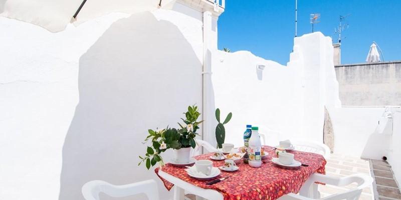 Authentic seafront apartment in Puglia