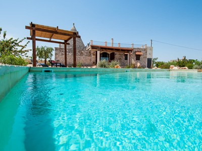 A gracious Trullo in Puglia with private pool