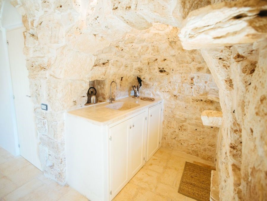 Peaceful & authentic Trullo in Puglia with private pool located in the beautiful countryside surrounding Ceglie Messapica