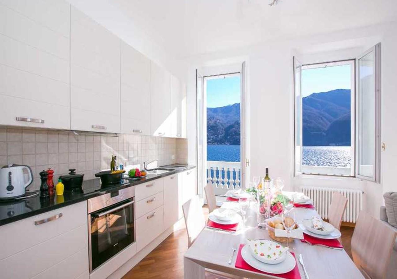 Elegant self catering Lake Como apartment